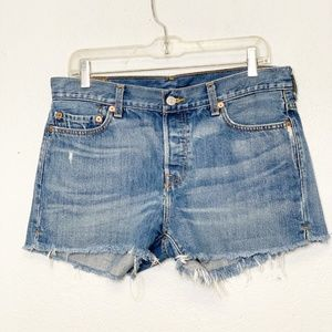 Levi's Recycled 501 Cut Off Shorts